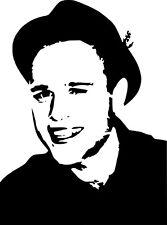 OLLY Murs Stencil su A4 240 Micron Riutilizzabile