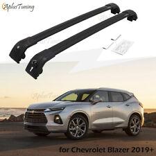 Fit for 2019 2020 Chevrolet Blazer Cross Bars Roof Rack Lockable Black Racks
