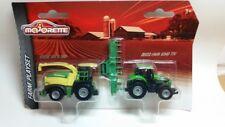 Majorette 212057440-granja Playset-corona Big X 580 & Deutz-Fahr 9340 TTV-nuevo