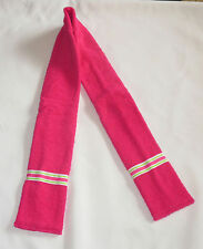 DROOL SCARF for Special Needs Tweens Adults Hot PINK Machine Washable Green Wh