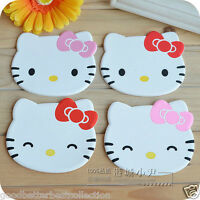 2 pieces/set Kawaii Hello Kitty Tableware Cup Pads Mats