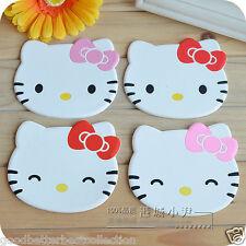 2 pieces/set Kawaii Hello Kitty Tableware Cup Pads Mats