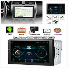 "2Din Universal Android 9.1 7"" HD 2GB+32GB Touch Screen Car Stereo Radio GPS Nav"