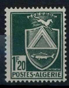 Algeria 1942-1945 SG#196, 1f20 Blue Green Arms MH #E84539