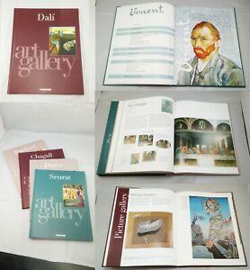 DeAgostini Art Gallery Artists Book Collection Da Vinci Van Gogh Picasso e.t.c.