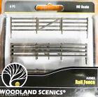 Woodland Scenics HO #2982 Rail Fence - Kit with Gates, Hinges & Planter Pins --