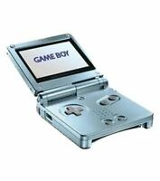Authentic Nintendo Game Boy Advance SP (Pearl Blue) w/Charger *Cosmetic Flaw*