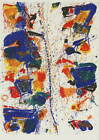 Sam Francis The White Line Giclee Art Paper Print Paintings Poster Reproduction