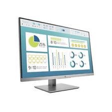 "HP EliteDisplay E273 27"" Monitor 1920x1080 VGA DP HDMI USB Tilt Swivel Pivot 3YR"