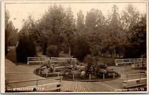 "1910s SEATTLE Washington RPPC Photo Postcard ""IN MADISON PARK"" Frasch Photo #92"