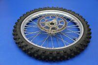 2003 02-18 YZ85 YZ 85 Front Wheel Assembly Hub Spokes Rim Rotor YZ80