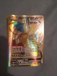 Dragonite EX 106/108 Ultra Rare Full Art Holo Evolutions Pokemon Card Mint