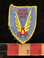 Vintage Airplane AAA ANTIQUE AIRPLANE ASSOCIATION Patch 96B7