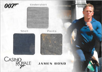 James Bond In Motion Costume Wardrobe Prop Card TC03 James Bond Dirt Variant