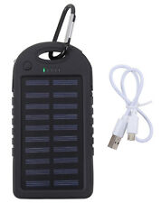 Tactical Waterproof Solar Portable Power Bank Hunting Camping Use Rothco 2111