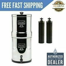 Big Berkey Water Filter Purifier with 2 Black Berkey Filters 2 Day Delivery