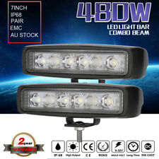 Pair 7inch 480W Cree Led Work Driving Light bar Combo beam Offroad4x4 Truck Jeep