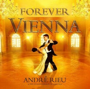 cd and dvd Vienna Forever - ANDRE RIEU - CD AND DVD