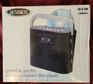 Jensen Portable Stereo Compact Disc Player with AM/FM Radio
