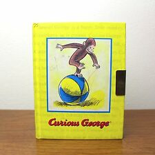 1998 Curious George Diary Journal With Lock, No Key Notebook Monkey Children's