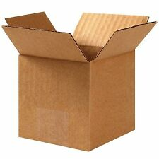 25 Pack 3x3x3 Corrugated Carton Cardboard Packaging Shipping Mailing Box Boxes