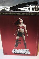 Planet Terror , Limited Jerry Can / Double-D Edition , uncut , new and sealed