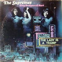THE SUPREMES 'SING RODGERS AND HART' US IMPORT LP MOTOWN 1967
