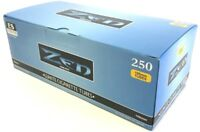 4x Boxes ( ZEN Blue Light 100s 100mm ) Cigarette RYO 250 Tubes Per Box