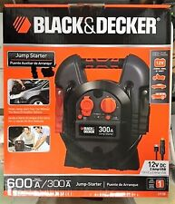 Black and Decker J312B 300 Amp Portable Jump Starter - no box