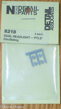 Detail Associates #8218 Headlights -- Dual, Pyle, Oscillating (pkg. 4)