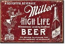 Miller High Life Bier Vintage Design USA Beer Werbung Magnet Magnetschild