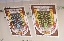 GUINEA 1960 STAMP SET REFUGEES 194-95 MNH LOT 210