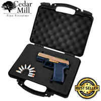 Pluck Foam Pistol Case Hard Lockable Airline TSA Approved Cedar Mill Firearms XL