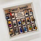 Display Frame for Lego Harry Potter Series 2 minifigures 71028 figures 27cm