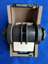 Vtg 1753 Rolodex Rotary Card Holder File Phone Address Mid 19th Century Business