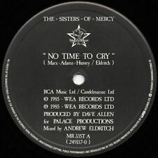 "No Time To Cry 12"" (UK 1985) : The Sisters Of Mercy"