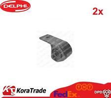 2x DELPHI TD301W REAR CONTROL ARM TRAILING ARM BUSH X2 PCS