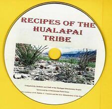 Recipes of the Hualapai Tribe, American Indian cookbook on  CD-ROM