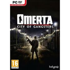 Omerta: City of Gangsters (PC)  BRAND NEW AND SEALED - QUICK DISPATCH