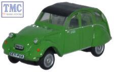NCT004 Oxford Diecast 1:148 Scale N Gauge Citroen 2CV Bamboo Green