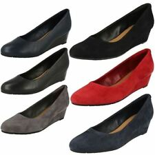 Suede Slip On Formal Shoes for Women