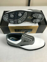 Footjoy Mens Dry ICE Leather Waterproof Golf Shoes Size 9.5 Med 59964 NEW NOS