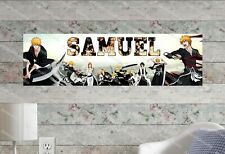 Bleach - Personalized Name Poster Customized Birthday Party Banner Decor