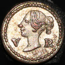 More details for 1848 | victoria model 1/4 d coin | coins | km coins