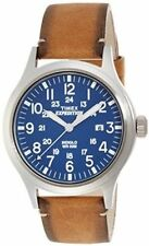 Timex Mens Quartz Watch Expedition Scout With Leather Strap TW4B01800 -
