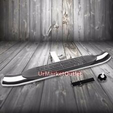 "Chrome 37"" x 4.00"" Class III 2"" Receiver 4.00"" Wide Oval Trailer Hitch Step Bar"