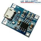10pcs TP4056 5V 1A Micro USB Lithium Battery Charging Board Charger Module