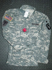 New US Army ACU Digital Military Combat Uniform Shirt Jacket Top Coat Large L /S