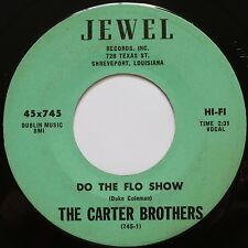 THE CARTER BROTHERS ~ RARE northern soul JEWEL R&B 45 ~ DO THE FLO SHOW hear