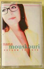 Nana Mouskouri:  Return to Love (Cassette, 1997, Philips) NEW